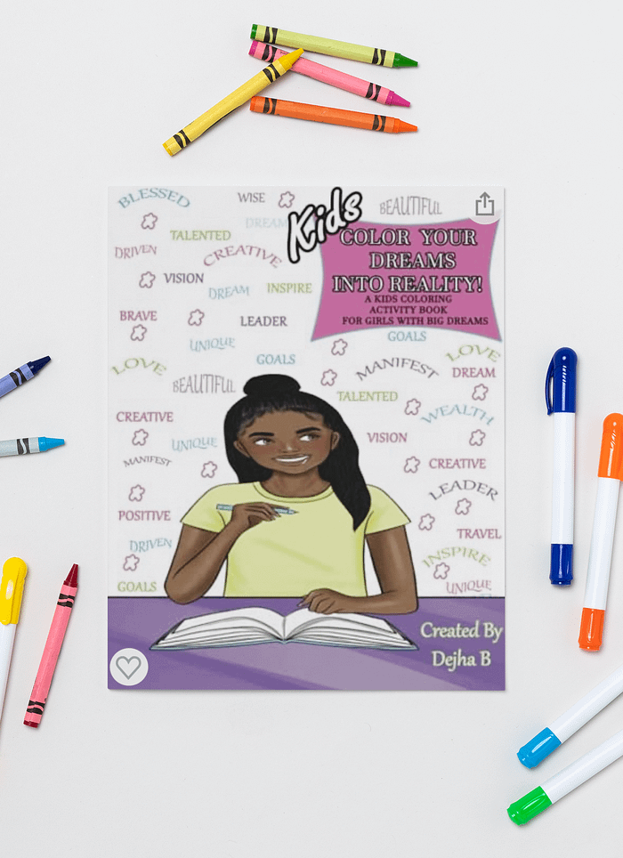 Black Girl Coloring Books